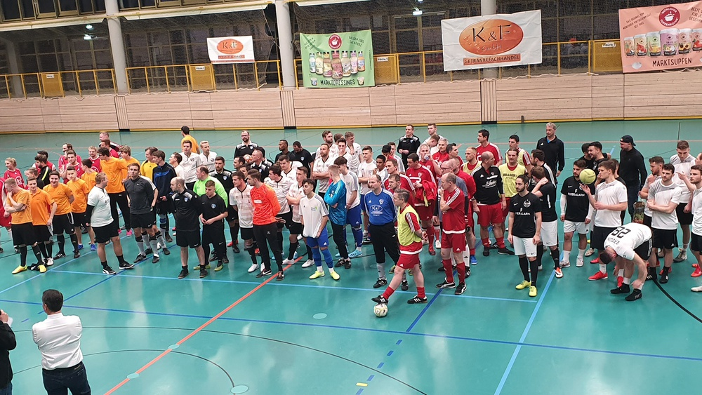 Alle Teilnehmer vom K&F Soccercup 2020